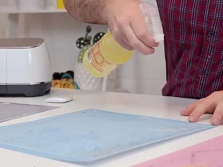how to clean cricut mat with awesome