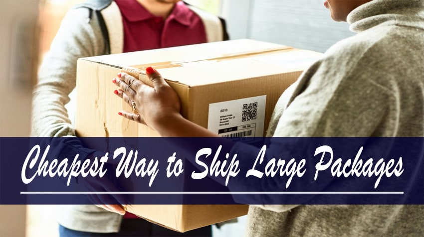 cheapest way to ship large packages internationally