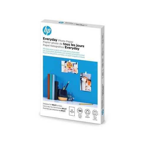 how to print on glossy paper hp