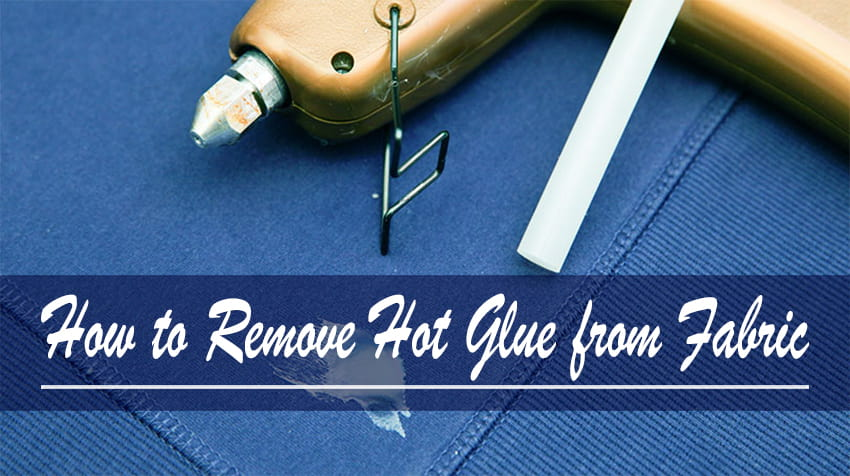 how to remove super glue from fabric