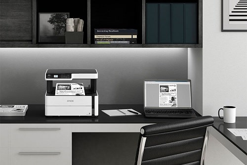 How to Print with Black Ink Only When Color Is Empty Epson
