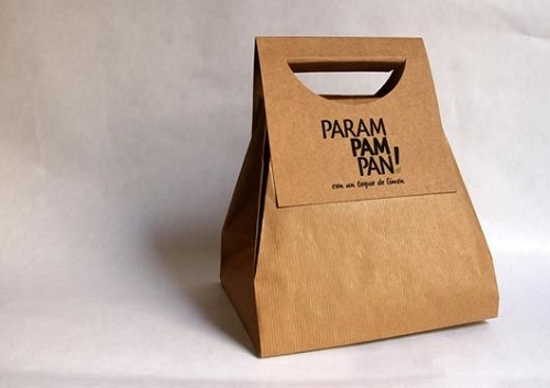 Paper Bags as Food Wrapper