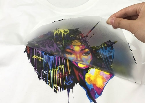 how to print on vinyl for shirts