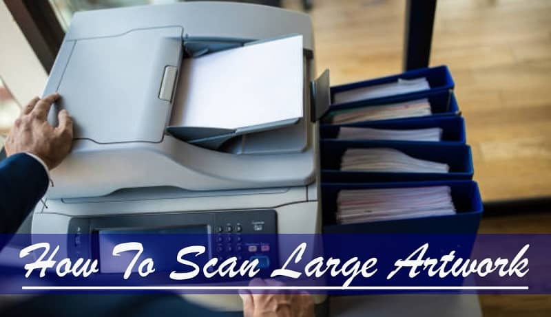 how to scan traditional art