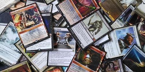 mtg card size for printing