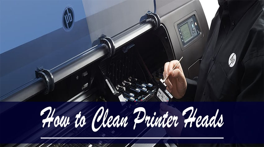 how to automatically clean hp printer cartridge