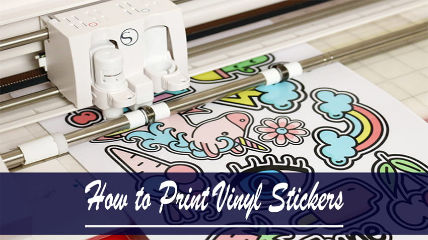 how to make vinyl stickers