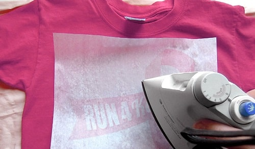 how to print on transfer paper