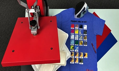 how to use heat transfer paper with heat press