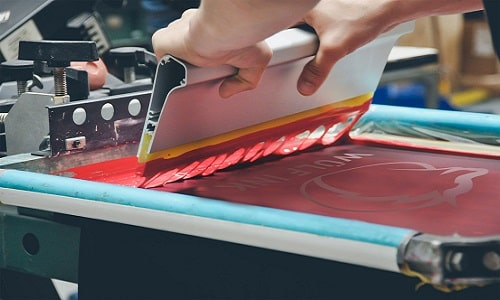 screen printing meaning
