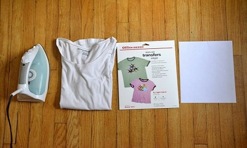 How to Use Iron-On Transfer Paper