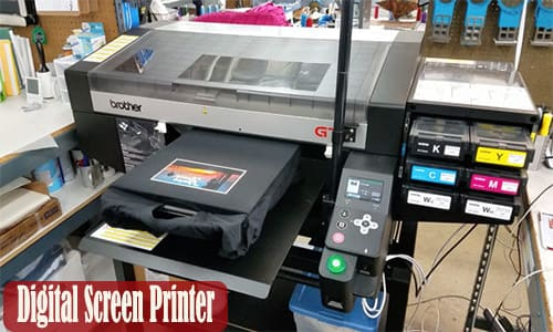 how much does it cost to buy a screen printer