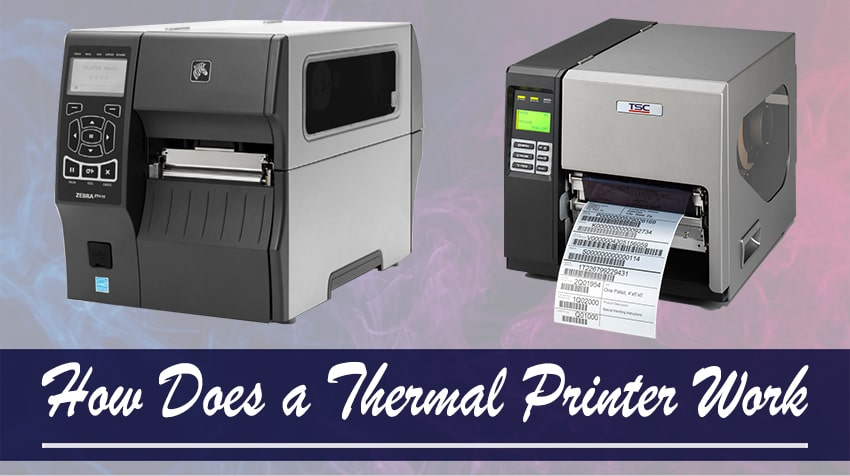thermal printers advantages and disadvantages