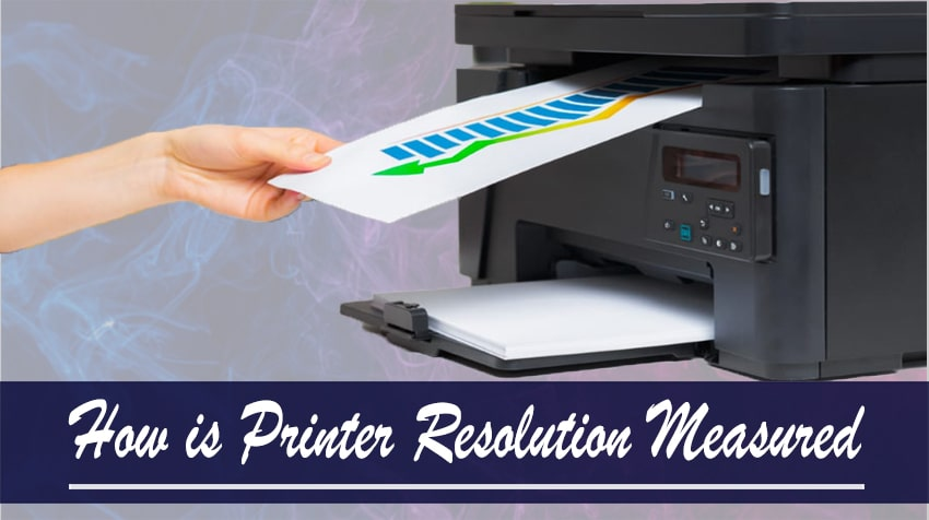 how to measure printer resolution