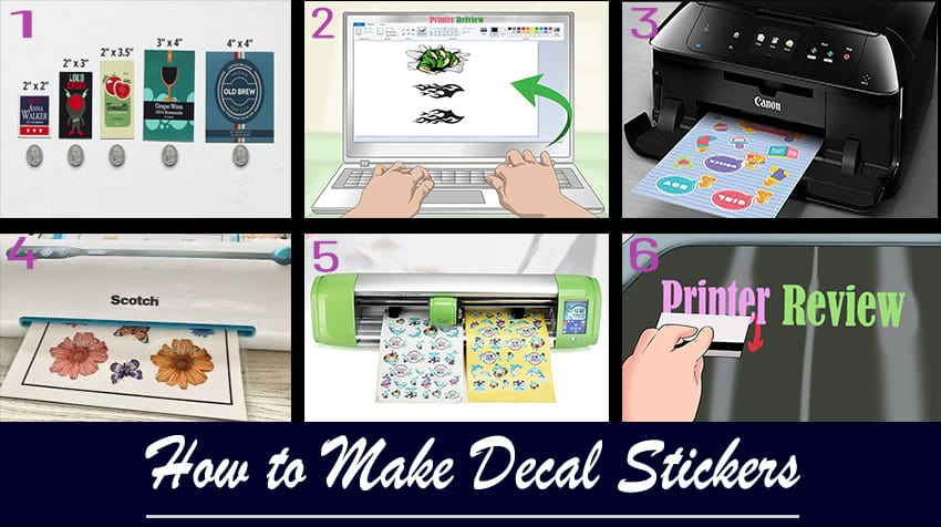how to make decals with inkjet printer