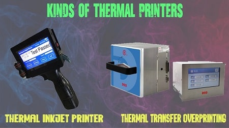 What are the Kinds of Thermal Printers