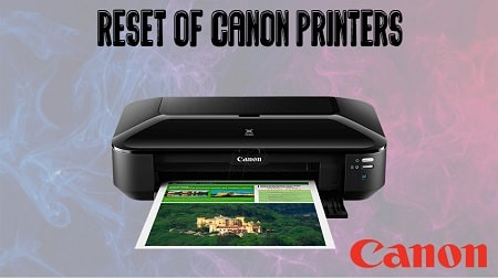 How to Factory Reset Canon Printer