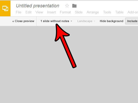 how to print multiple slides on one page in google slides